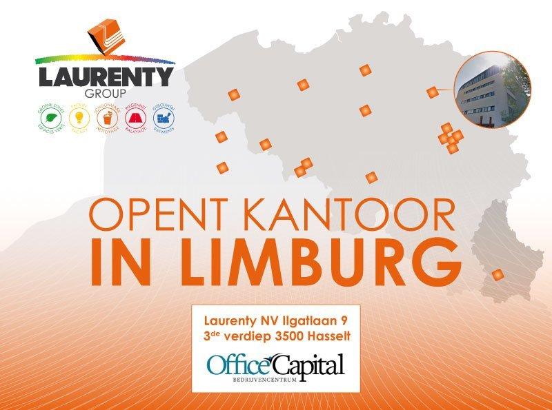 Nouveau bureau Laurenty à Hasselt